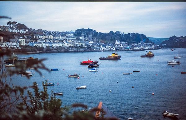 Fowey Harbour, Restormal, Cornwall - October 1993