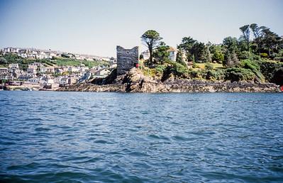 Polruan Castle, Polruan, Restormel, Cornwall - August 1994