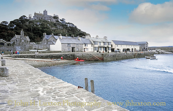 St Michael's Mount, Marazion, Penwith - August 31, 1990