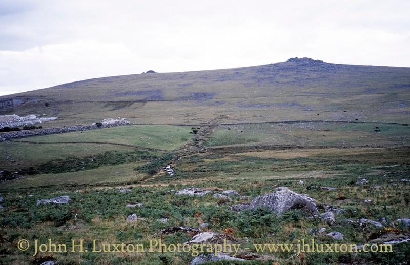 Merrivale Newtake, Merrivale, Dartmoor, Devon - September 03, 1989