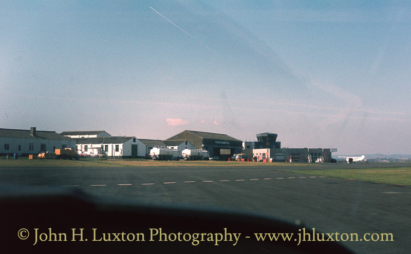 Exeter Airport April 08, 1984