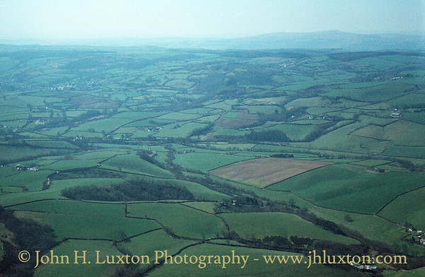 View in the direction of Dartmoor - April 08, 1984
