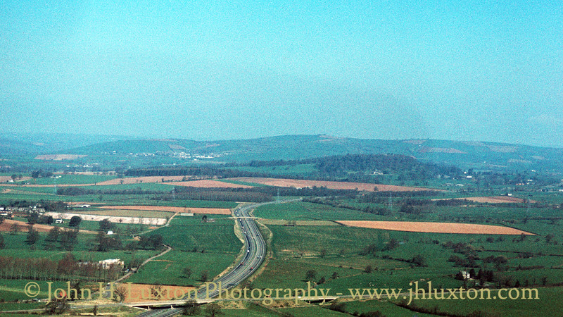 M5 Motorway near Poltimore - April 08, 1984