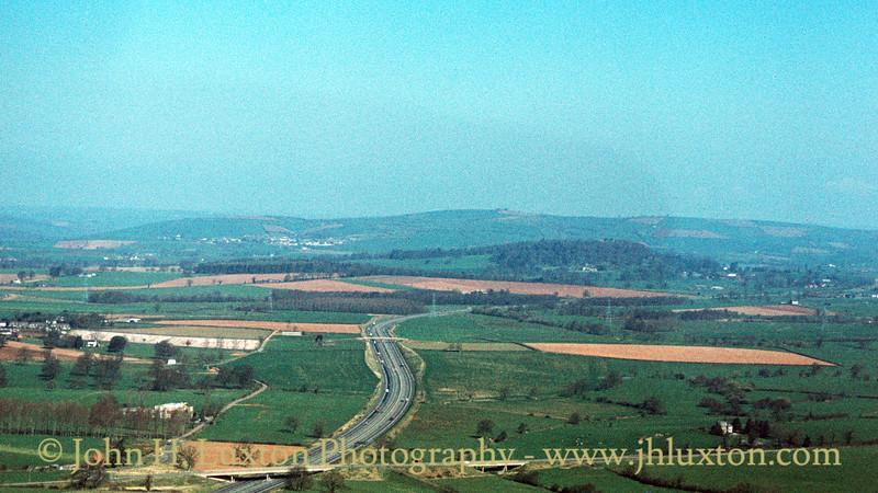 M5 Motorway near Poltimore - April 08, 1984