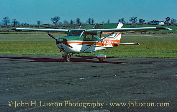 Cessna 172M Skyhawk G-BBKZ at Exeter Airport - April 08, 1984