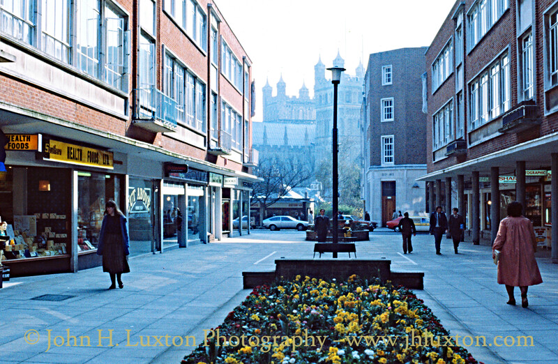 Exeter, Devon - March 31, 1981