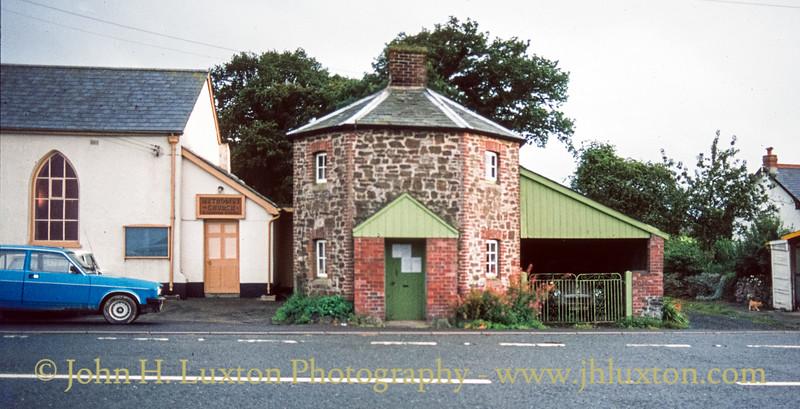 Exeter Turnpike Trist Toll Cottage, Cheriton Cross, Devon - September 09, 1992