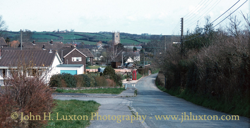 Cheriton Bishop, Devon - April 11, 1984