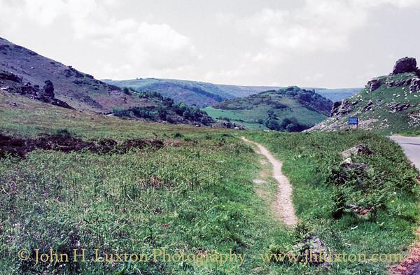 Valley of the Rocks, Lynton, Devon - May 16, 1985