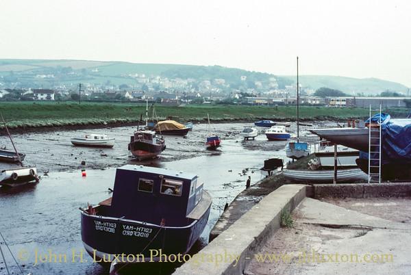 Braunton Harbour, Braunton, Devon - May 16, 1985