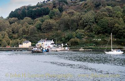 Dartmouth Higher Ferry, Dartmouth, Devon - October 25, 1989