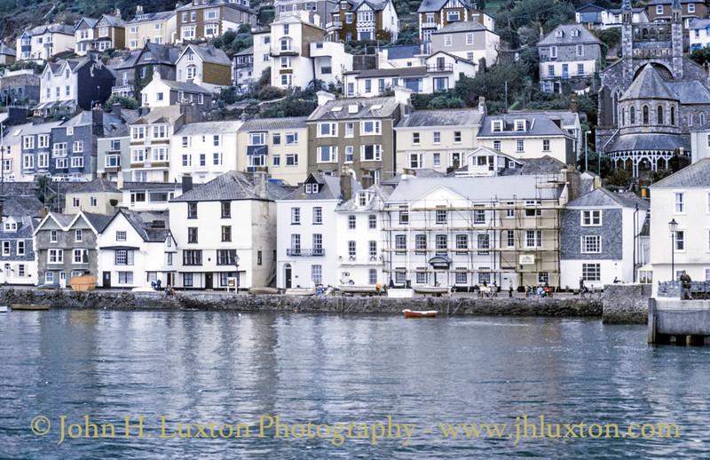 Bayards Cove, Dartmouth, Devon - October 25, 1989