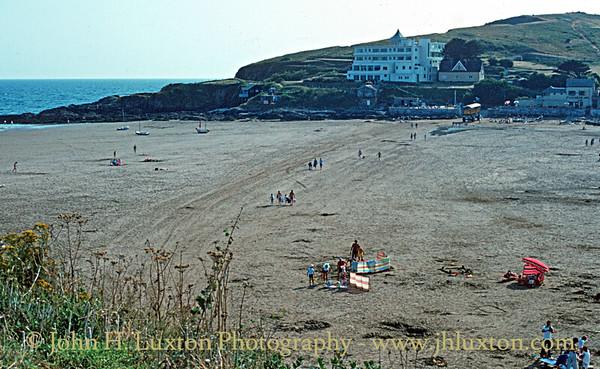 Burgh Island, Devon - August 19, 1983