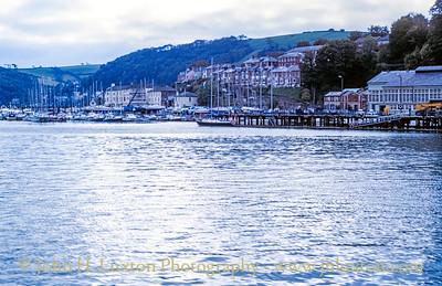 River Dart, Dartmouth, Devon - October 25, 1989