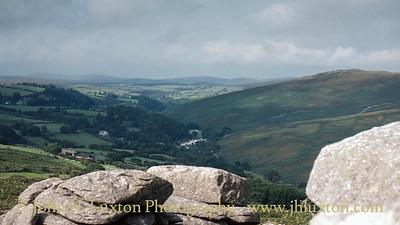 Combestone Tor, Dartmoor, Devon - September 02, 1982