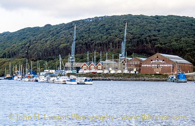 Philip and Son Shipyard, Dartmouth, Devon - October 25, 1989