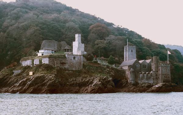 River Dart, Dartmouth, Devon - October 25, 1987