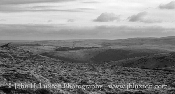Sharp Tor, Dartmoor, Devon - February 24, 1987