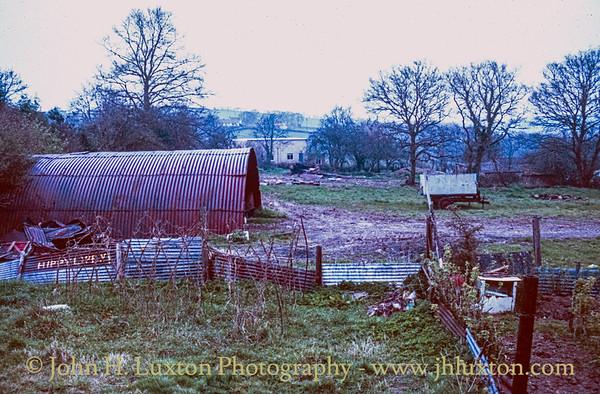 Fry's Yard, Tedburn St Mary, Devon - April 08, 1988