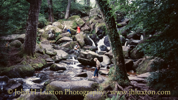 Becky Falls, Dartmoor, Devon - August 27, 1985