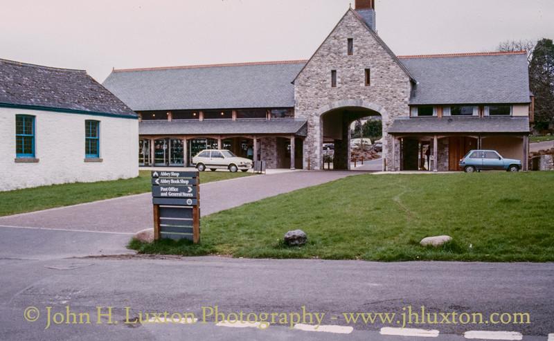 Buckfast Abbey, West Gate Entrance, Buckfast, Devon - April 13, 1987