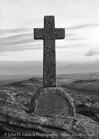 Penney Cross, Sharp Tor, Devon - February 24, 1987