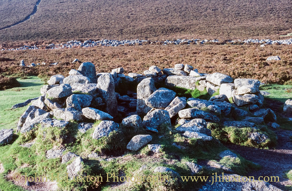 Grimspound Bronze Age Village, Dartmoor, Devon - October 05, 1985