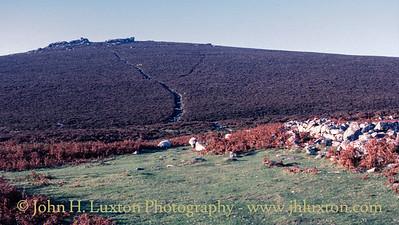 Grimspound Bronze Age Village, Dartmoor, Devon - October 05, 1985