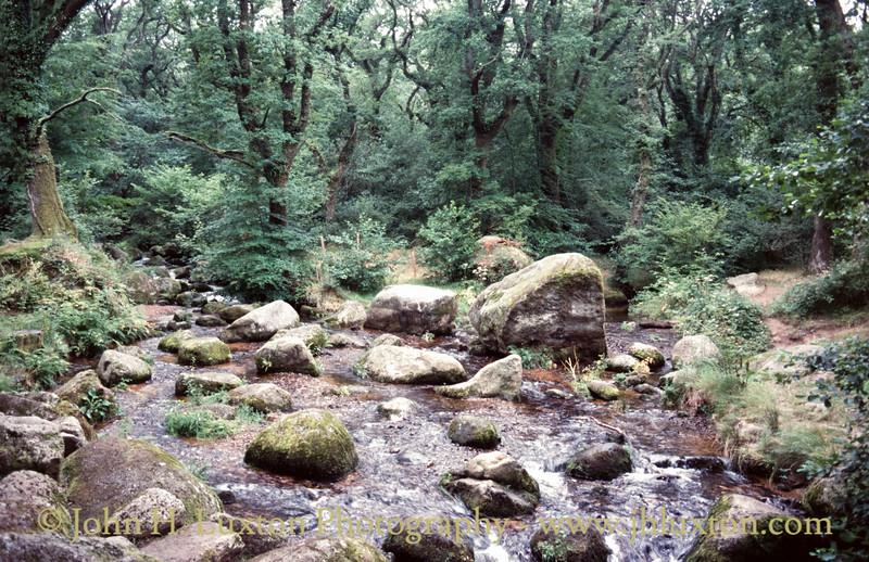 Becky Falls, Dartmoor, Devon - August 27, 1985