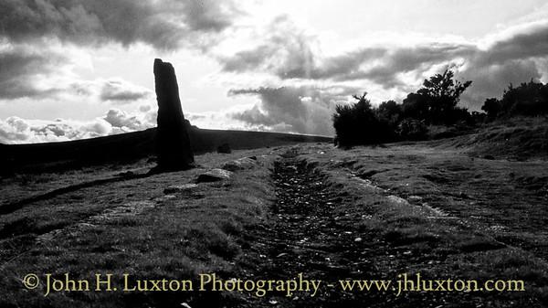 Haytor Granite Tramway, Haytor Down,  Dartmoor, Devon - August 23, 1982