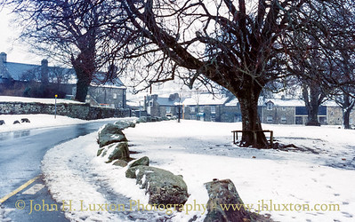 Widecombe in the Moor, Dartmoor, Devon - March 20, 1985