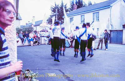 Great Western Morris Dancers, Tedburn St, Mary, Devon - May 20, 1986