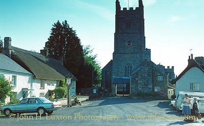 Drewsteignton, Devon - August 19, 1981