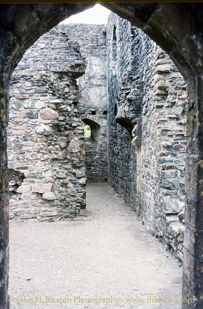Okehampton Castle, Okehampton, Devon - May 20, 1985