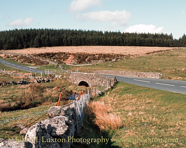 "B3212 ""Hairy Hands Bridge"" Cherry Brook Bridge, Dartmoor, Devon - May 21, 1986"