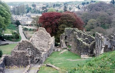 Okehampton Castle, Okehampton, Devon - May 20, 1985