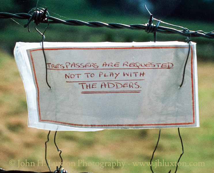 Postbridge, Devon - August 22, 1981