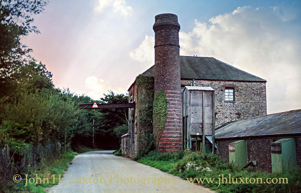 Greenhill and Chilsworthy Brick Works, Cornwall - September 09, 1982
