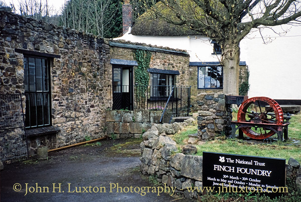 Finch Foundry - Sticklepath - Devon - April 1994