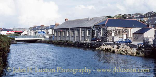 Copperhouse Canal, Copperhouse, Cornwall - 1989
