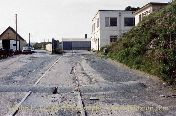 Hayle Wharf Branch Line - August 30, 1992