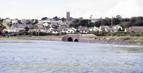 The Black Road and Black Bridge - Copperhouse - Cornwall - 1989