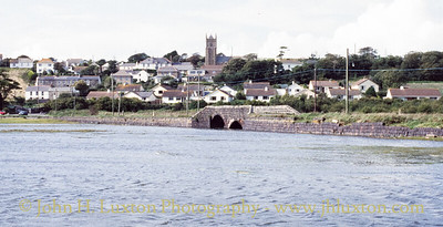 The Black Road and Black Bridge - Copperhouse - Cornwall - 1989