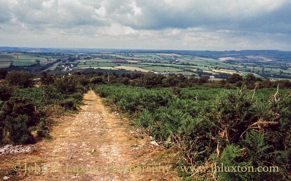 Kit Hill Quarry, Callington, Cornwall - August, 1990