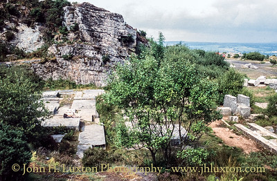 Kit Hill Quarry, Callington, Cornwall - August 1990