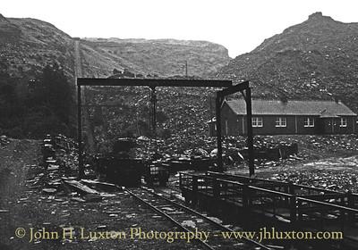 Maenofferen Quarry, Blaenau Ffestiniog - January 30, 1981