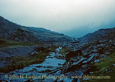 Cwmorthin Quarry, Tanygrisiau - January 31, 1981