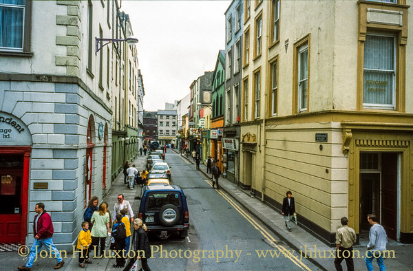 Pembroke Street, Cork City, Ireland - May 28, 1998