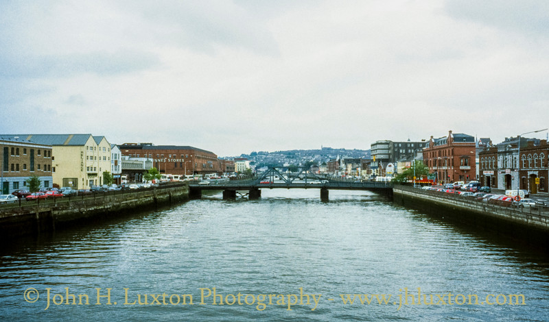 River Lee, Cork City, Ireland - May 28, 1998