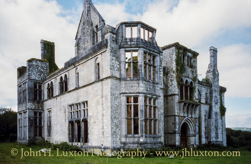 Puxley Mansion - Dunboy Castle - Castletownbere - County Cork - Eire - August 2002